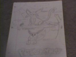 My best pic. Espeon and Eevee. by Espeon804