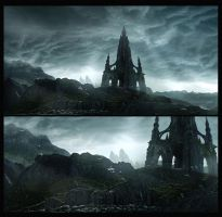 Prophecy Mattepainting by megamars