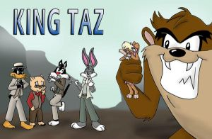 King Taz by Da-Wabbit
