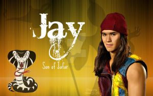 Disney Descendants - Jay, son of Jafar by KariaHearts56789