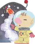 Captain Olimar to Outer Space by YukikoSama