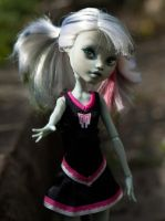 Shambles the Zombie Monster High OC OOAK WIP by Beauty-Darkly