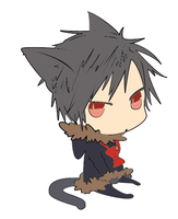 Neko Izaya by Cheshire--Katt