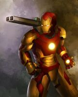 Iron Man Mk. 4309asdfgpewpew by leonwoon
