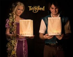 Disney's 'Tangled' - Cosplay.  'The lanterns' by VSbyVi