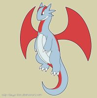 Salamence goes Wawr by That-Stupid-Dingo