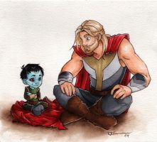 Little Jotun Loki by CaptBexx