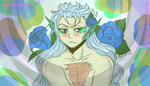 -Grimmjow can be Pretty too. by Leeleechanlee