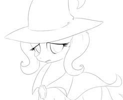 trixie(no Color)(commision ex) by kyodashiro