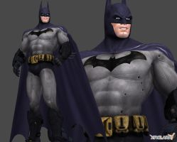 Batman : Arkham City by XNALaraFanatic