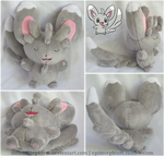 Sleeping Minccino Plush by Diffeomorphism