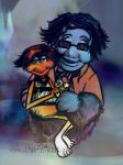 The Finished Fraggle Family Portrait by far-eviler
