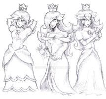 Royal Princesses by 3Dogz