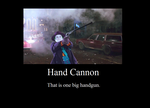 Hand Cannon by JasonPictures