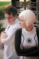 GLaDOS and Wheatley: It's MY facility. by Emmalyn