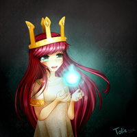 Follow the Light - Child of Light Aurora - Fanart by TolieBunny