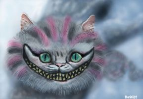 Cheshire cat by marielart
