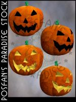 Jack O'Lanterns 002 by poserfan-stock