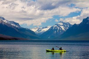 Glacier Mountain Kayaking by TimGrey