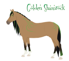A8 AS Golden Shamrock by BlueFire-Phoenix