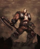 Garrosh Hellscream by davebrush