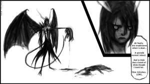 Ulquiorra kills Orihime by D-SuN