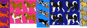 Dog Adoptables SALE FREE by Wolfs-Hybrid