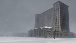 Michigan central station by guntama