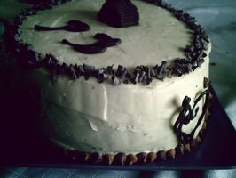 Peanut Butter Cake by Smile4theBullocks