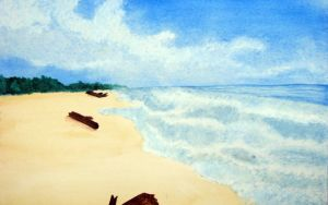 Another Beach Lanscape by kimberly-castello