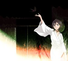 Bleach - Rukia Youtube Layout by Lilliania