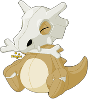 Cubone Plushie by Xagic