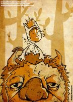 Where the Wild Things Are by Itinen
