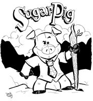 Sugar Pig by JamieCosley