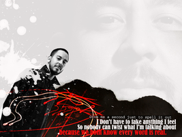 Mike Shinoda Wallpaper NR.6 by LP-ANA