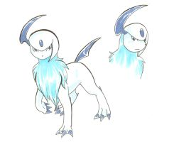 Spirit the Absol by Ila-Mae