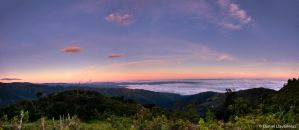 Sunrise over the Aroa valley by dllavaneras