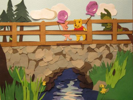 Winnie the Pooh and Piglet by fatihakingodhlor