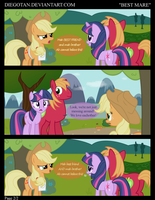 Applejack, Twi and BM in ''Best Mare'' by DiegoTan