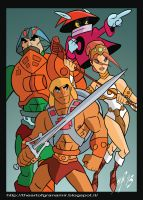 He-man and the Masters of the universe by Granamir30