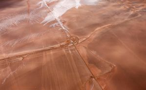 Tracks in outback by MichaelDunning