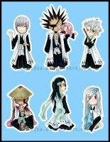 Bleach Key Chains Set 1 by Ranefea