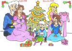 Happy Christmas Family by AnneMarie1986