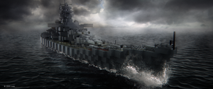 Battleship by icrdr