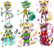 Dragonpaws set 3 by DrTrousers