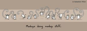Monkey Stuff by sebreg