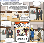 The Adventures of Business Cat - Aftermath by tomfonder