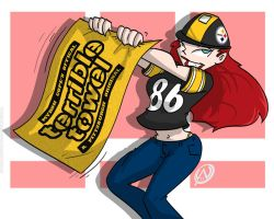 Steeler Nation Monica by LDLAWRENCE