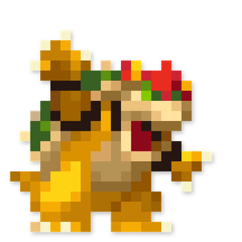 Day #218 - Bowser by JINNdev