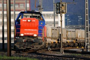 SBB Am 843 050-6 by SwissTrain